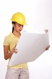Young female engineer Stock Photo