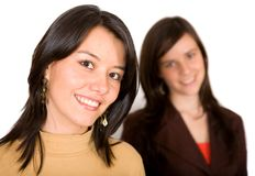 Young female friends Stock Photography