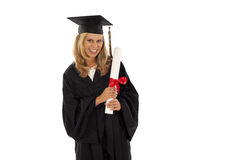 Young female graduate Stock Image