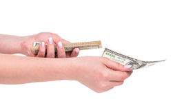 Young female hands Royalty Free Stock Photos