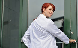 Young female healthcare professional Royalty Free Stock Photography