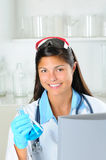 Young Female Medical Proffesional Royalty Free Stock Photo