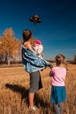 A young female mother royalty free stock images