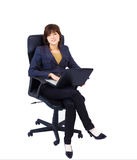 Young female office worker Stock Photo