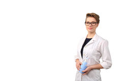 Young female pharmacist Stock Image