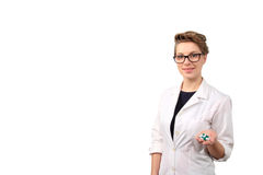 Young female pharmacist Royalty Free Stock Image