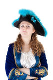 Young female pirate Stock Image