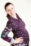 Young female pregnant Stock Photos