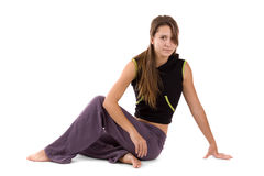 Young female resting Royalty Free Stock Photo