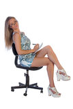 Young female secretary Royalty Free Stock Photography