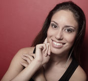 Young female smiling Royalty Free Stock Photos