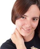 Young Female Smiling Stock Photo