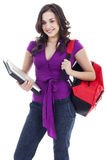 Young female student Royalty Free Stock Photography