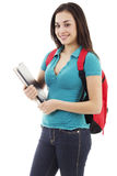 Young female student royalty free stock images