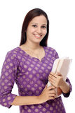 Young female student with books Royalty Free Stock Image