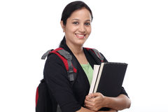 Young female student with books Stock Photography