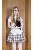Young female student Royalty Free Stock Photos