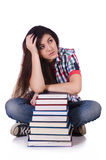 Young female student Stock Photos