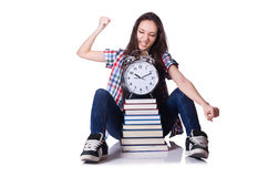 Young female student Stock Photography