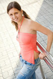 Young female student portrait Royalty Free Stock Photography