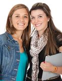 Young female students Stock Image