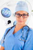 Young female surgeon Royalty Free Stock Photography