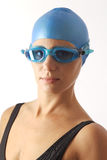 Young female swimmer Royalty Free Stock Photo