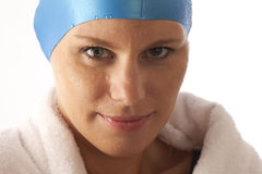 Young female swimmer Royalty Free Stock Image