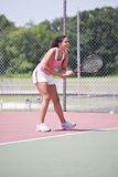 Young female tennis player Royalty Free Stock Images