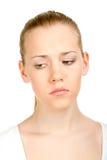 Young female thinking Stock Photo