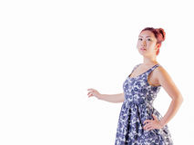 Young Female Wearing Summer Dress Royalty Free Stock Image