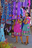 Young native zapotec women Stock Image