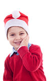 Young festive boy royalty free stock photos