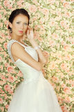 Young fiancee. Romantic young fiancee - glamour beauty Stock Photography