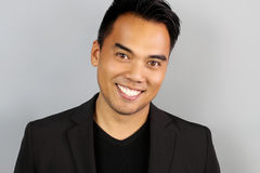 Young Filipino man smiling Royalty Free Stock Image