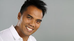 Young filipino smiling Stock Photos