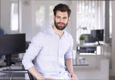 Young financial assitant Stock Photos