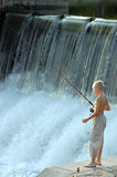 Young fisherman Royalty Free Stock Images
