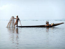 Young Fisherman Stock Image