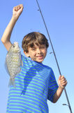 Young fisherman Royalty Free Stock Photos