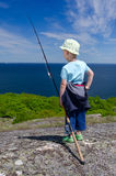 Young fisherman portrait Royalty Free Stock Image