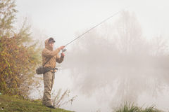 Young fisherman Royalty Free Stock Photo