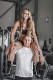 Young fit couple Stock Image