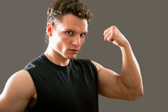 Young and fit male model Royalty Free Stock Image