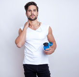 Young fit man Royalty Free Stock Photos