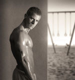Young fit man Royalty Free Stock Photography