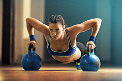 Young fit woman Royalty Free Stock Photography