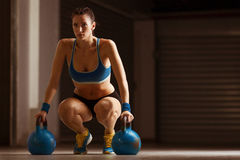 Young fit woman Royalty Free Stock Photo