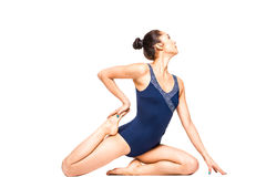 Young fit woman practicing yoga Stock Image