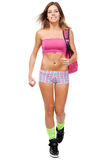 Young fit woman in sports outfit Stock Images